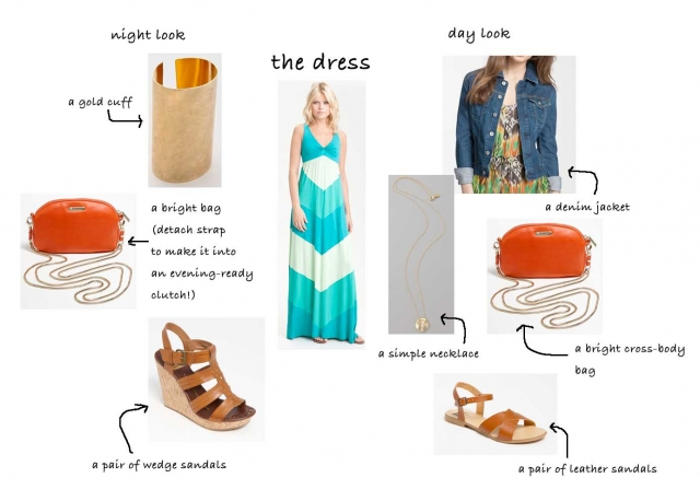 the summer maxi dress