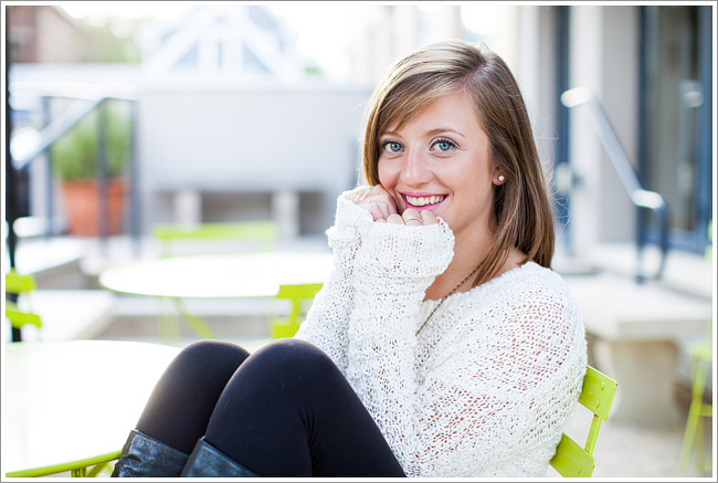 Ana's downtown lifestyle senior portraits // columbus ohio